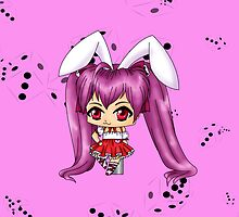 Chibi Rabi en Rose by artwaste