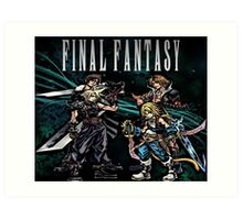 Final Fantasy - Collections Art Print