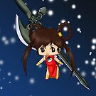 Chibi Devil Hunter Yohko by artwaste