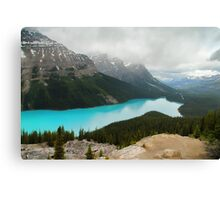 Canada's Peyto Lake Canvas Print