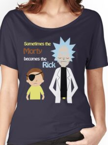 Evil Rick and Morty Women's Relaxed Fit T-Shirt