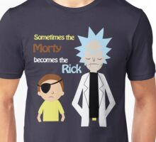 Evil Rick and Morty Unisex T-Shirt