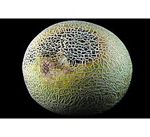 Rock Melon / Cantaloupe #1 - The Raw Foods Series Photographic Print
