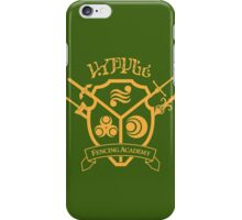 Hyrule Fencing Academy - Gold iPhone Case/Skin