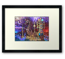 Ritual Cathedral of Stray Barks Framed Print