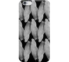 on the wire | white iPhone Case/Skin