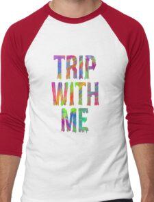 TRIP WITH ME Men's Baseball ¾ T-Shirt