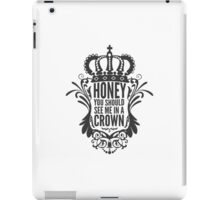 In A Crown - Deluxe Edition iPad Case/Skin