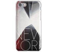 NEW YORK V iPhone Case/Skin