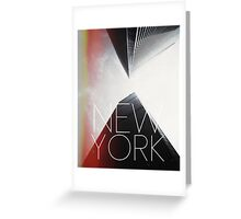 NEW YORK V Greeting Card