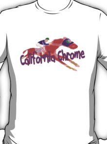 Fun California Chrome Design T-Shirt