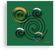 Twist Canvas Print