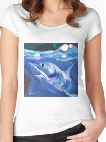 Friends in the Sea Women's Fitted Scoop T-Shirt