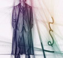 The Tenth Doctor Colorful Sketch by Alondra