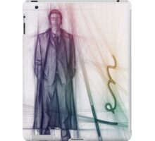 The Tenth Doctor Doctor Who Colorful Sketch iPad Case/Skin