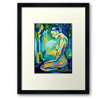 """Gilded glow"" Framed Print"