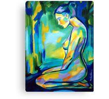 """Gilded glow"" Canvas Print"
