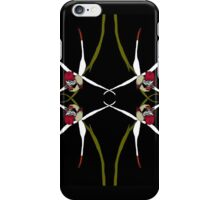 Exotic Native Orchid Mirror Design iPhone Case/Skin