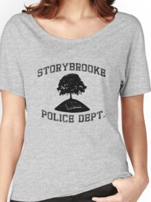 Storybrooke Police (dark/alt.) Women's Relaxed Fit T-Shirt