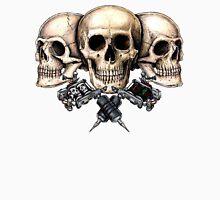 Skull and tattoo machines Unisex T-Shirt