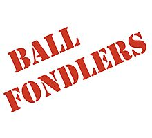 BALL FONDLERS   Photographic Print