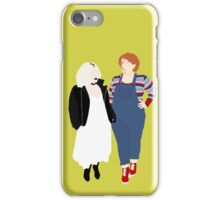 Plus Size Halloween - Chucky and Tiffany iPhone Case/Skin