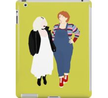 Plus Size Halloween - Chucky and Tiffany iPad Case/Skin