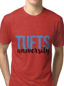 Tufts University Tri-blend T-Shirt