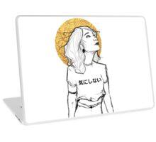 I don't care Laptop Skin
