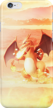 Charizard Phone Case by AppleAustin