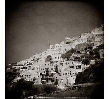 { Oia Windmill } Photographic Print
