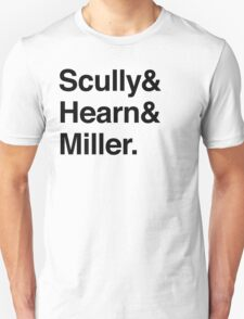 Scully and Hearn and Miller - Light Version T-Shirt
