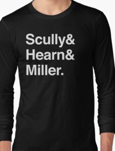 Scully and Hearn and Miller - Dark Version Long Sleeve T-Shirt
