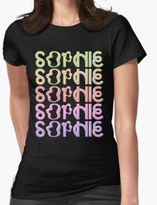 SOPHIE MSMSMSM RAINBOW LOGO Womens Fitted T-Shirt