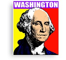 GEORGE WASHINGTON (POP-ART) 2 Canvas Print