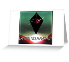 Explore No Man's Sky Greeting Card
