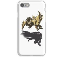Gore Magala and Seregios iPhone Case/Skin