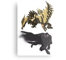 Gore Magala and Seregios Metal Print