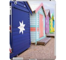 Brighton Beach Huts iPad Case/Skin