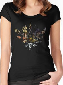 Monster Hunter 4 Ultimate Monsters Women's Fitted Scoop T-Shirt