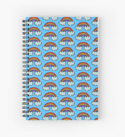 Pixel Rainbow  Spiral Notebook