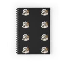 Garlic #2 - The Raw Foods Series Spiral Notebook