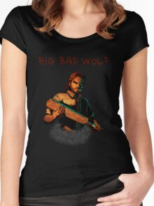 Bigby Wolf Women's Fitted Scoop T-Shirt