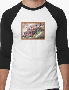 Place for spiritualism  Men's Baseball ¾ T-Shirt