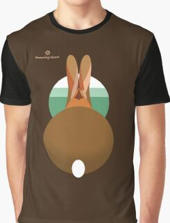 rabbit in a burrow  Graphic T-Shirt
