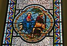 St Joseph's window, Kalocsa by Graeme  Hyde