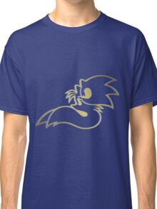 Sonic and Tails - GOTTA GOLD FAST Classic T-Shirt