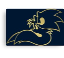 Sonic and Tails - GOTTA GOLD FAST Canvas Print