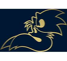 Sonic and Tails - GOTTA GOLD FAST Photographic Print