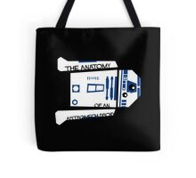Anatomy of an Astromech Droid Tote Bag